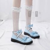 lolita鞋梅露露lolita鞋日系原創新款洛麗塔軟妹jk小皮鞋女蘿莉花邊娃娃鞋 衣間迷你屋