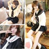 全館83折日本女學生水手服套裝夏JK制服校服班服日系短袖海軍風甜美學院風