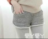 褲裙冬季外穿短褲包臀假兩件女韓版學生加厚帶裙打底褲裙褲秋冬款新年禮物