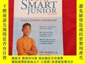 二手書博民逛書店Word罕見Smart Junior : Build a Straight-A Vocabulary 3rd Ed