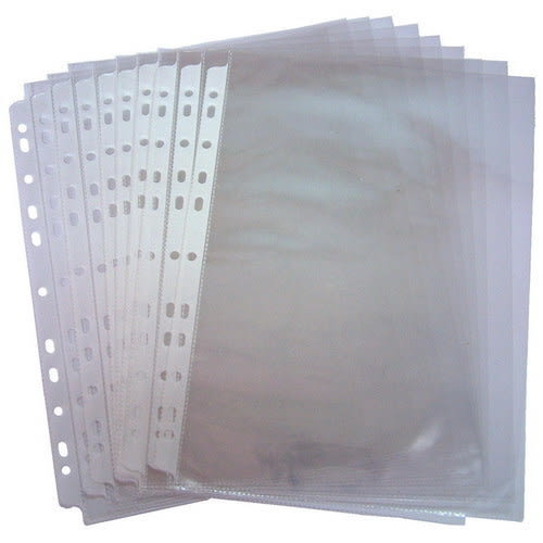 【奇奇文具】  11孔PP內頁資料袋 (A4 100入)