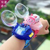遙控玩具抖音同款網紅手表汽車男孩玩具電動遙控車手表小汽車兒童迷你賽車【快速出貨】