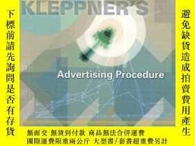 二手書博民逛書店Kleppner s罕見Advertising Procedure (15th Edition)Y255562