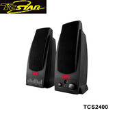 T.c.star 連鈺 火箭星際二件式電腦多媒體喇叭 TCS2400