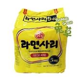 韓國不倒翁Q拉麵 (純麵條) 5包入