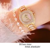 新款熱銷手錶高檔鏈錶滿鑽女錶《小師妹》yw92