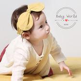 髮帶 韓版 棉麻 兒童 寶寶 蝴蝶結 造型 髮飾 BW