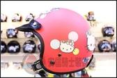 [安信騎士] 華泰KK K-803 K803 kitty 平光紅 復古帽 安全帽