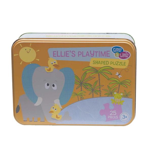 美國 gibby&libby造型拼圖 大象的遊戲時間