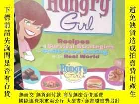 二手書博民逛書店Hungry罕見Girl: Recipes and Surviv