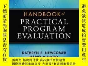 二手書博民逛書店Handbook罕見of Practical Program Evaluation, 4th EditionY