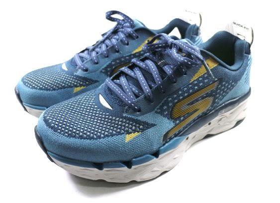 [陽光樂活] 28.5CM~SKECHERS (男) 跑步系列GO RUN ULTRA R 2 避震 慢跑鞋 路跑鞋 訓練鞋- 55050BLNV 藍金