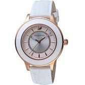 SWAROVSKI施華洛世奇Octea Lux現代時尚腕錶   5414416 白