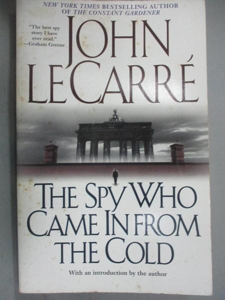 【書寶二手書T5/原文小說_LID】The Spy Who Came in from the Cold_Le Carre