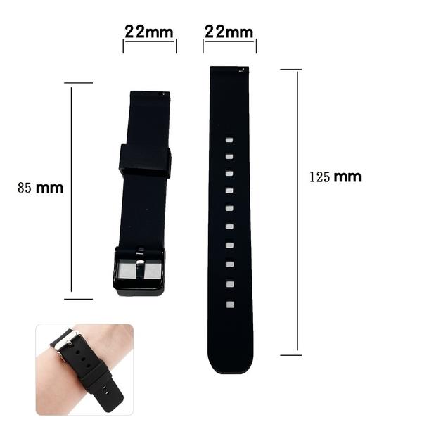 【矽膠錶帶】Samsung Gear S3 Classic R770 22mm 智慧智能手錶 替換運動腕帶