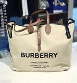 ■專櫃74折■全新真品 ■Burberry The Belt 柔軟棉質帆布大型包