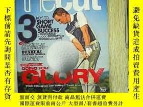 二手書博民逛書店thecut罕見improve your golf AUG SE