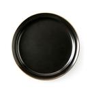 莫蘭迪系列6.5吋陶瓷平盤-黑