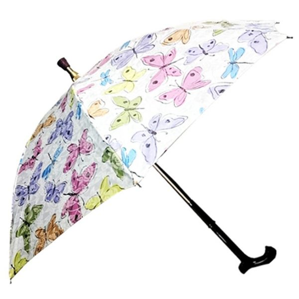 兩用式雨傘手杖
