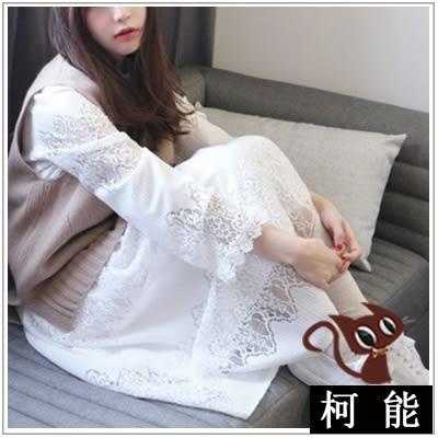 中長款蕾絲韓系連衣裙