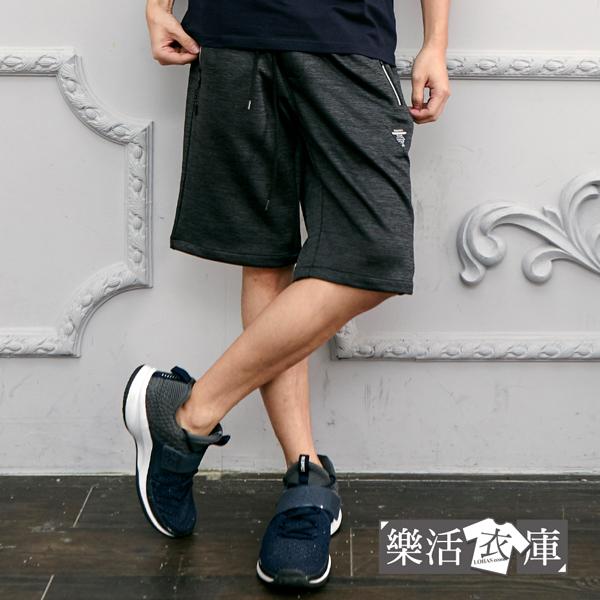 【066-5912】歐美街頭鬆緊抽繩彈力休閒短褲(共二色)● 樂活衣庫