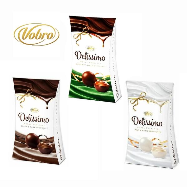 威寶夾心巧克力(可可醇黑/榛果牛奶/牛奶白)105g