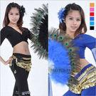 羽毛孔雀扇表演服.肚皮舞蹈服飾配件.中東...