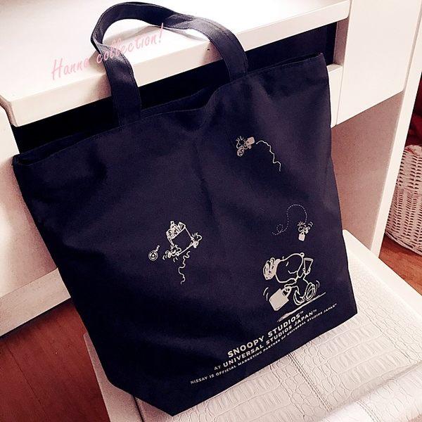 《花花創意会社》外流。STUDIOS DOG黑色拉鏈托特包【H5881】