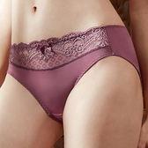 EASY SHOP-唯美城市 中腰三角褲(咖啡紫)