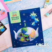 韓國大創 正版迪士尼貼紙 玩具總動員 角色人物 透明貼 貼紙包 裝飾貼紙 60張入 深藍款 COCOS DB043
