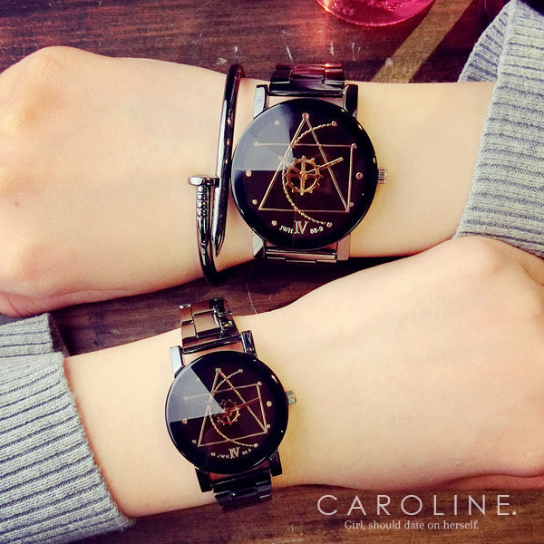 《Caroline》★手錶 韓國熱賣造型英倫時尚羅盤齒輪手錶 71131