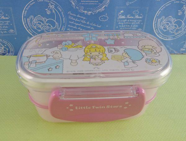【震撼精品百貨】Little Twin Stars KiKi&LaLa 雙子星小天使~便當盒 扣式