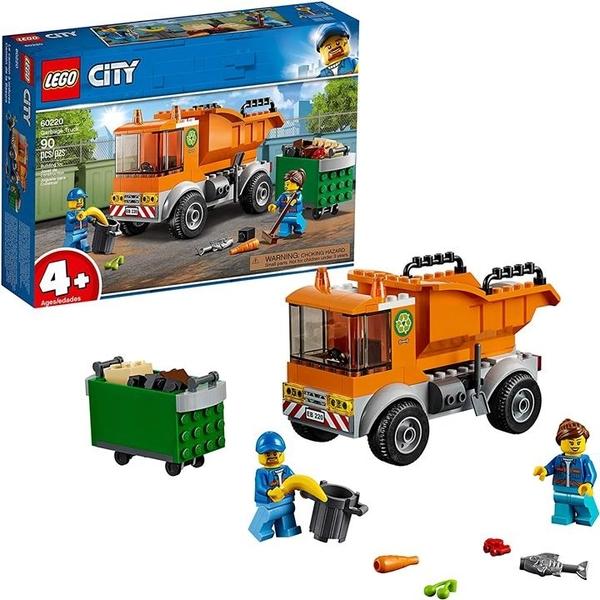 LEGO 樂高 城市大車垃圾車60220 (90件)