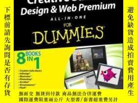 二手書博民逛書店Adobe罕見Creative Suite 6 Design and Web Premium All-in-One