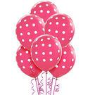 12吋點點乳膠氣球6入-漾彩粉