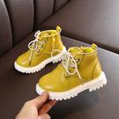兒童馬丁靴2019秋季新款女童靴子春秋單靴短靴皮靴男童皮鞋寶寶鞋