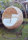 【南洋風休閒傢俱】吊籃系列 - 戶外塑料藤編吊籃 室內吊籃 陽台吊籃 圓型吊籃
