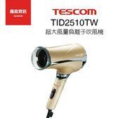 TESCOM TID2510 TID2510TW 負離子 吹風機 大風量 折疊式 保固一年