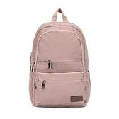 【南紡購物中心】J II 後背包-極限水洗雙拉鍊後背包-藕粉色-6566-17