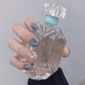 ins日系新款網紅灰藍貓眼穿戴甲手工光療美甲成品環保甲片 居享優品