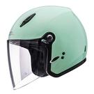 【東門城】SOL 27Y 素色(綠) 半罩式安全帽 女生帽款