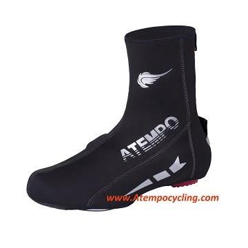 【ATEMPO】ACC配件系列 中性款 低溫用防風保暖鞋套 黑色 發泡防風防水材質。