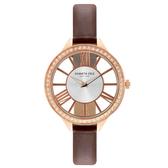 Kenneth Cole 羅馬夜夢時尚晶鑽腕錶-KC50184002