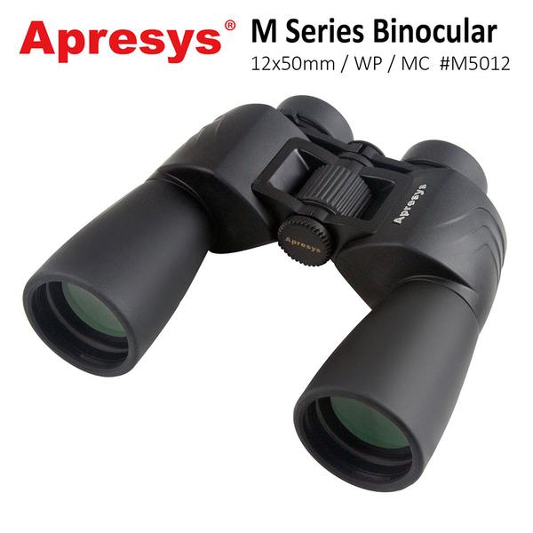 【美國 Apresys 艾普瑞】M Series 12x50mm 大口