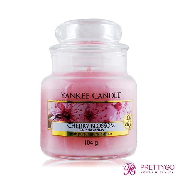 YANKEE CANDLE香氛蠟燭-粉紅櫻花 Cherry Blossom(104g)【美麗購】