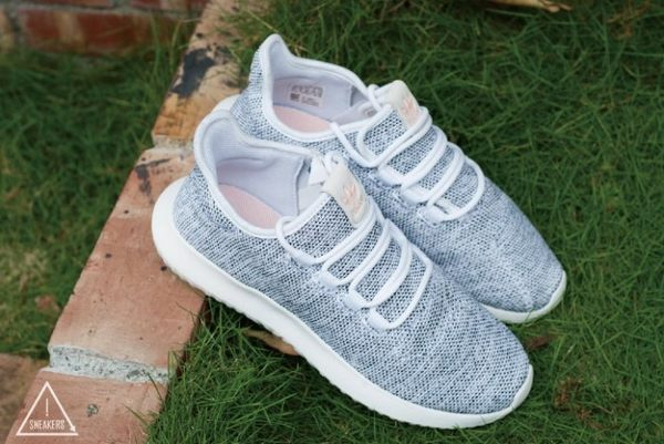 ISNEAKERS Adidas Tubular Shadow 淺灰 白 粉標 男女鞋 小350 BB8872