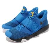 Nike 籃球鞋 KD Trey 5 VI EP 6代 藍 黑 黃 勇士隊 果凍底 男鞋 Kevin Durant【PUMP306】 AA7070-401