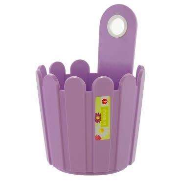 LANDHAUS 可吊式圓型花槽-淡紫