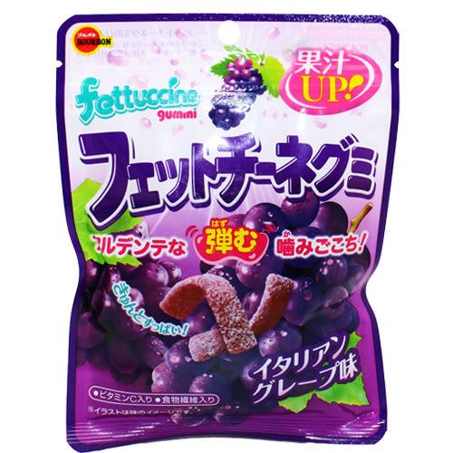 北日本 FETTUCCINE葡萄口味軟糖 QQ糖(50g)