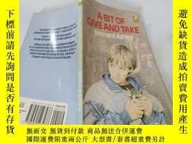二手書博民逛書店A罕見Bit Of Give And Take:有點讓步Y200392